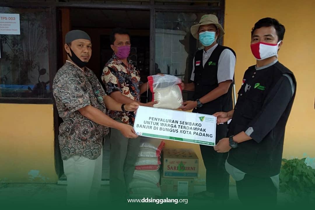Giat DDV Sumbar dan DD Singgalang  Pasca Banjir di Kota Padang