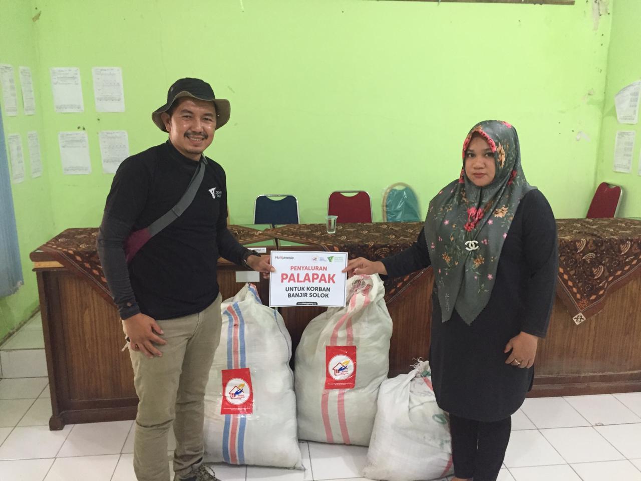 Banjir Rendam Solok, DDV Sumbar Gulirkan Bantuan