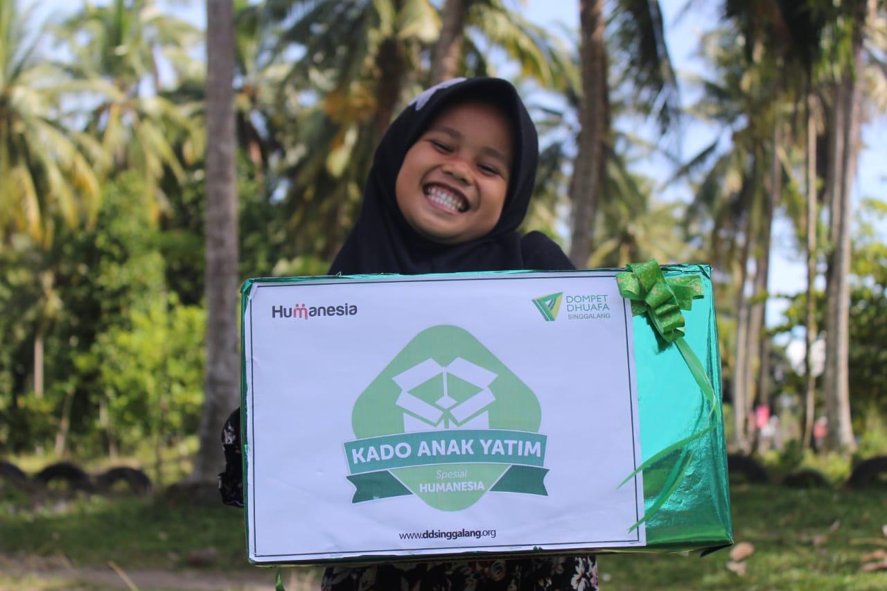 Program Kado Yatim DD Singgalang Sasar Enam Kabupaten/Kota di Sumatera Barat