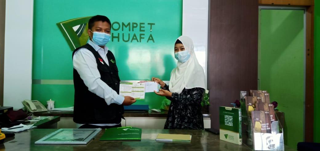 PMII Rayon FDIK UIN IB Padang Salurkan Donasi untuk Warga Terdampak Banjir di Kalsel